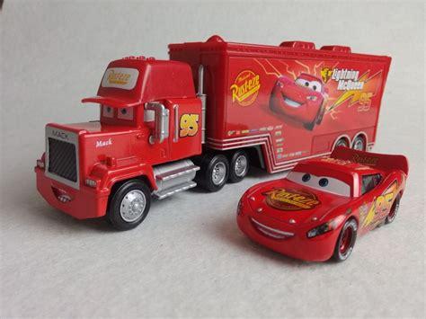 lightning mcqueen truck disney pixar quot cars quot lightning mcqueen mack mack