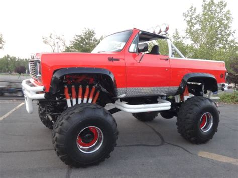 1973 k5 blazer monster truck street legal sale photos technical specifications description