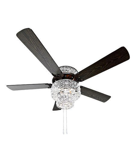 river of goods ceiling fan river of goods silver punched metal clear crystal
