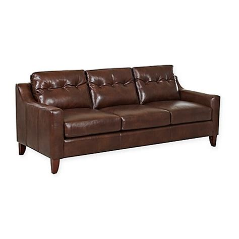 klaussner leather sofa review klaussner audrina leather tufted sofa bed bath beyond
