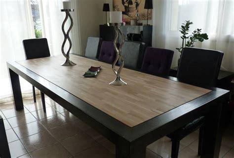 Exceptionnel Table De Cuisine En Bois #4: Site-realisation-meuble-bois-acier-table-01-2.jpg