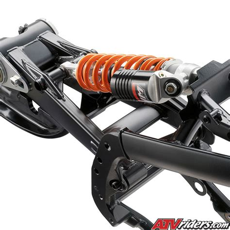 Ktm Rear Shock 2009 Ktm 450sx And 505sx Race Ready Atv Technical Info