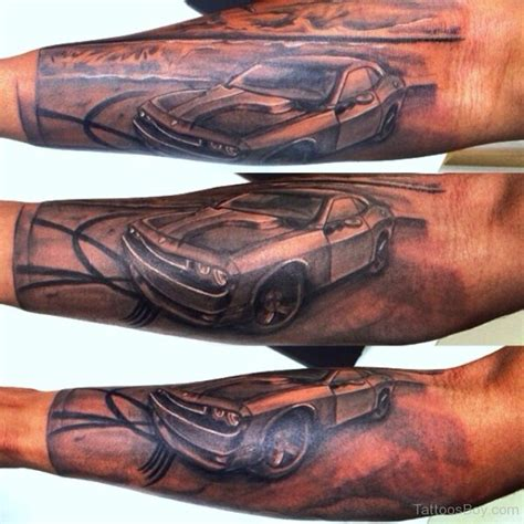 car sleeve tattoo designs car tattoos designs pictures