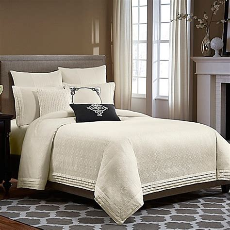 wamsutta comforters wamsutta 174 essex comforter set in ivory bed bath beyond