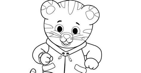 daniel tiger coloring page daniel tiger birthday