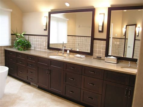bathroom cabinet hardware spaces asian with accent tile
