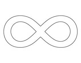 infinity symbol template free coloring pages of infinity symbol