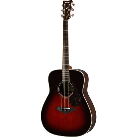 video guitar yamaha fg830 fg series dreadnought style acoustic fg830