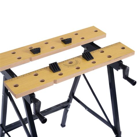 portable folding work bench portable folding work bench tool table garage repair