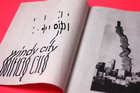 zine layout inspiration chicago zine the book design blog