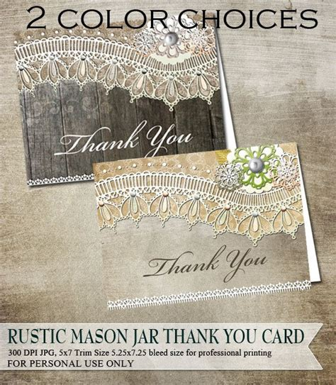free printable thank you cards vintage rustic thank you cards rustic vintage lace on wood