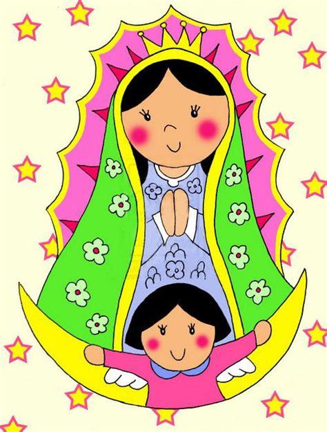 imagen virgen de guadalupe para ninos caricaturas de la virgen de guadalupe imagenes de virgen