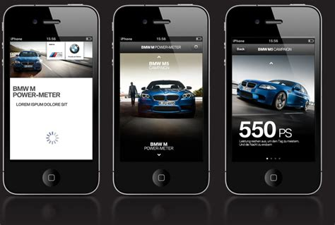 bmw m power meter app gold silver