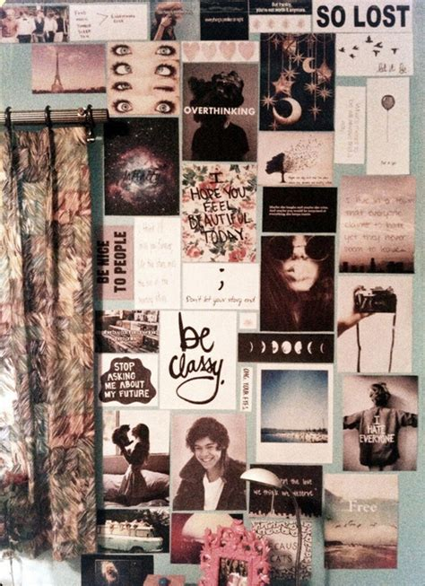 photo collage for bedroom wall wall collage tumblr