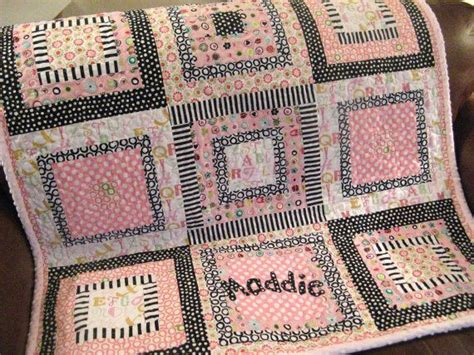 Personalized Handmade Baby Quilts - custom handmade baby quilt