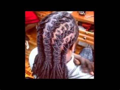 braided dread hairstyles youtube