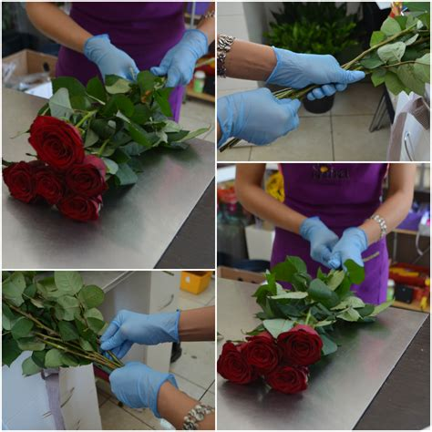 how to make floral arrangements step by step how to make a bouquet with your own hands