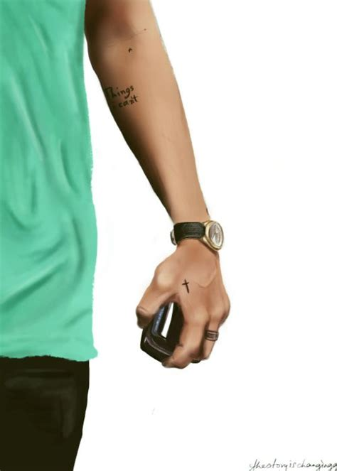 harry styles cross tattoo cross tattoos crosses and cool cross tattoos on