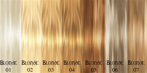 blonde colours chart tired of having blonde hair how to get your natural hair