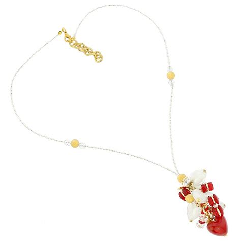 Donatellas Heartbreak by Murano Necklaces Donatella Murano Glass Charms