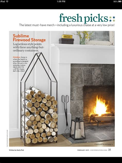 wood holder for fireplace interior exterior doors