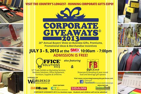 Corporate Giveaway Items - corporate giveaways expo 2013 at smx little running teacher