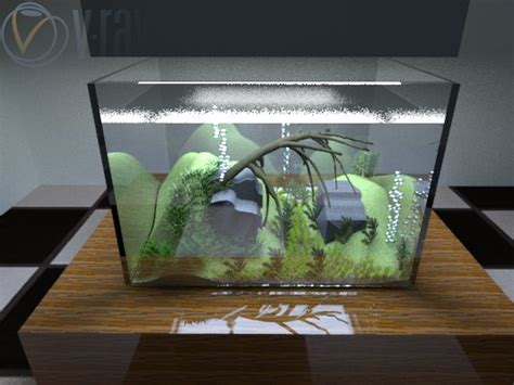Tutorial Aquascape by Cara Membuat Aquascape Aquarium Pada Sketchup Bagusguns