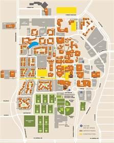 Ut Dallas Campus Map campus map the university of texas at dallas