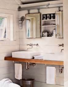 Bathroom Mirror With Hidden Storage » New Home Design