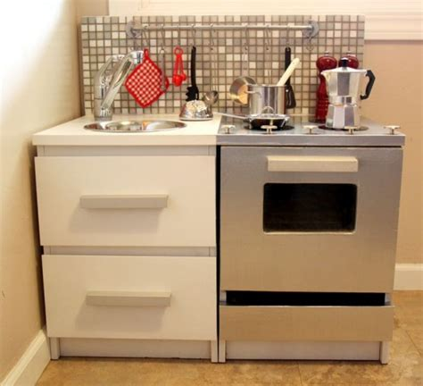 Cool Ikea Kitchens by 10 Cool Diy Ikea Play Kitchen Hacks Kidsomania