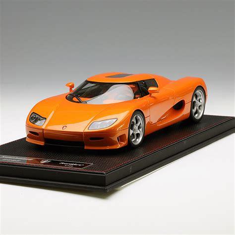 Frontiart 1 18 Koenigsegg Cc8s Orange Ebay