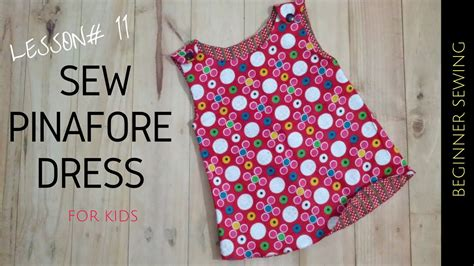 simple pattern pinafore dress how to sew pinafore dress with free pattern beginners
