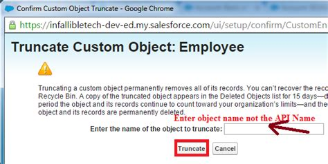 How To Remove Name From Records Infallible Techie How To Delete All The Records From An Object In Salesforce