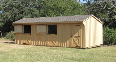 portable run  shed  wide horse shed deer creek