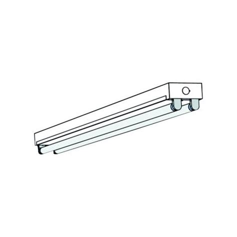T8 Fluorescent T8st Mini Strip Fixture Aei Lighting 8 Foot Light Fixtures