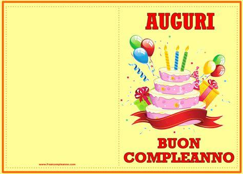 auguri di compleanno biglietti buon compleanno biglietti buon compleanno da