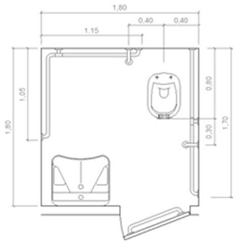 archweb bagno disabili bagno per disabili dwg design casa creativa e mobili