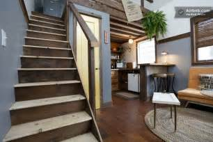 airbnb tiny house oregon the rustic modern tiny house in portland available via