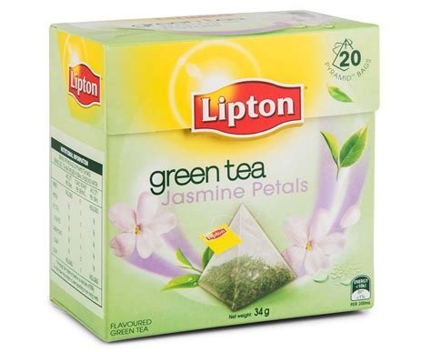 Teh Lipton Green Tea 4 x lipton petals green tea bags 20pk great daily deals at australia s favourite