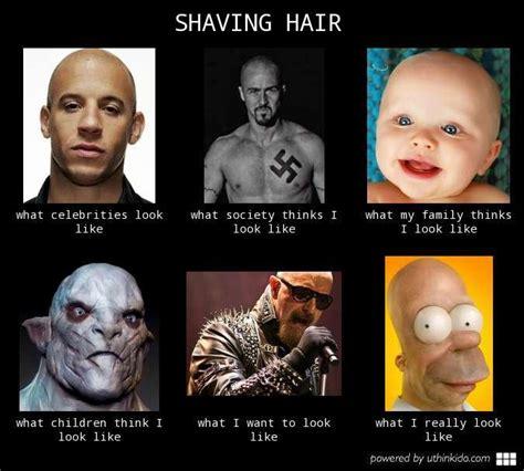 Meme Shaving - shaving hair know your meme