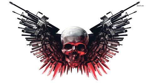 expendables tattoo hd scary wallpapers