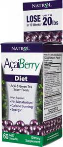 Natrol Acai Berry natrol acai berry diet 60ct 047469055080