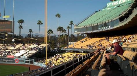 what is section 11 dodger stadium loge section 142 row c seats 1 2 youtube
