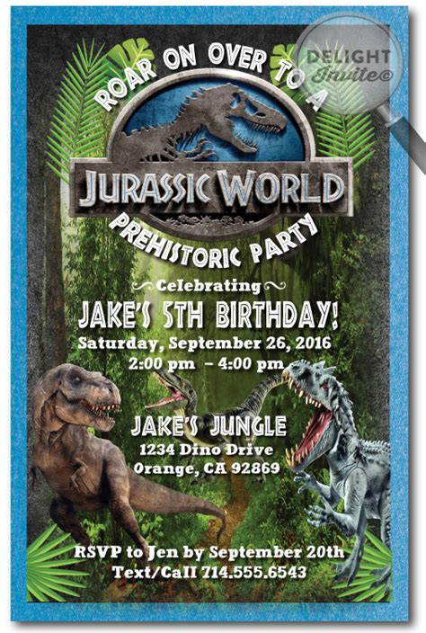 printable jurassic world birthday invitations jurassic world birthday invitations di 307 harrison