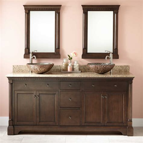 72 Vanity With Hutch Sink Bathroom Vanity Cabinets 72 12 With