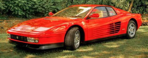 Ferrari Testarossa Mieten by Ferrari Testarossa Stilikone Der 80er Jahre Es Magazine