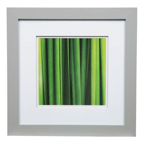 12 X12 Matted For 8 X8 Photo by Single Image 12x12 Wide Mat Gray 8x8 Frame