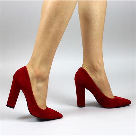 Block Heel Shoes block heel court shoes ha heel