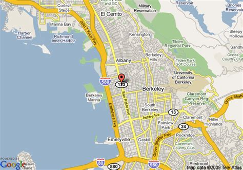 san francisco map berkeley map of best value inn berkeley san francisco berkeley