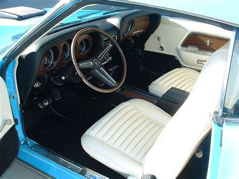 1970 mustang interior grabber blue 1970 mach 1 ford mustang fastback